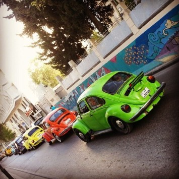 Beetle Parade at Rainbow Street