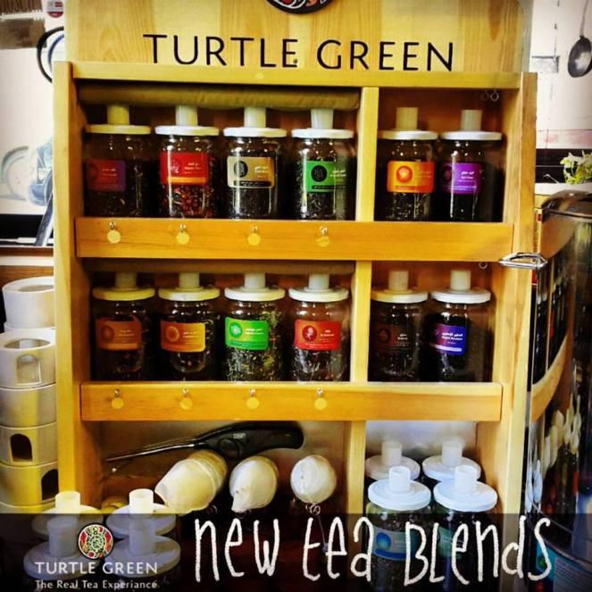 Turtle Green tea Blends