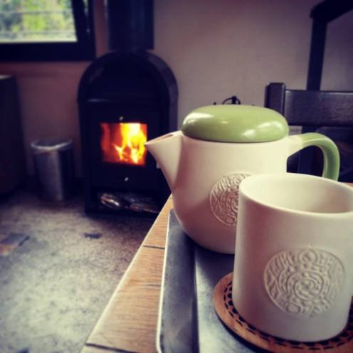 Special Edition winter tea ware by Turtle Green