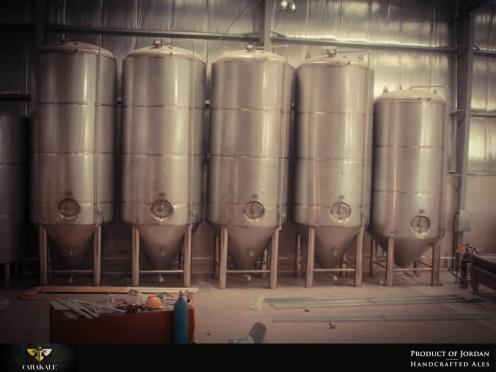 Fermenters and brie beer tanks