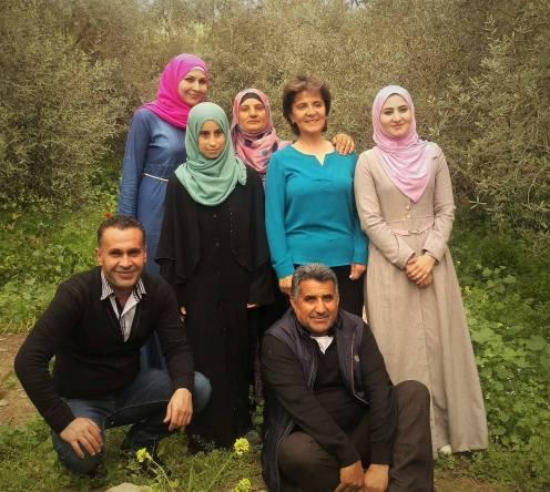 فريق رمانة مع معالي الوزيرة لينا عناب وزيرة السياحة والآثار