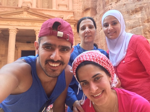 A family picture of the trip in 2015