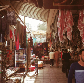 A local market in Wadi Musa