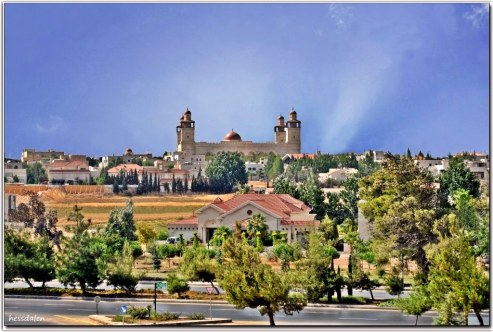View of King Hussein Mosque