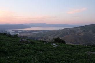 Overlooking Lake Tiberius