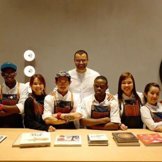 Ibrahim and The Espresso Lab team